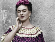 DETTAGLIO Frida Kahlo nella Casa Azul, 1943