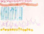GIORGIO GRIFFA, 162, 2010 acquerello su carta