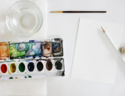 supplies-for-watercolor-letters