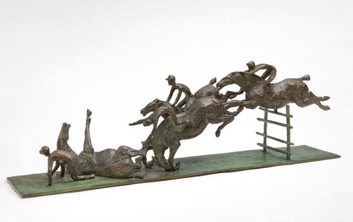 Lo scultore Angelo Saglietti
