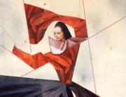 ritagliato_Paola de' Cavero_Faust_1986_collage su legno