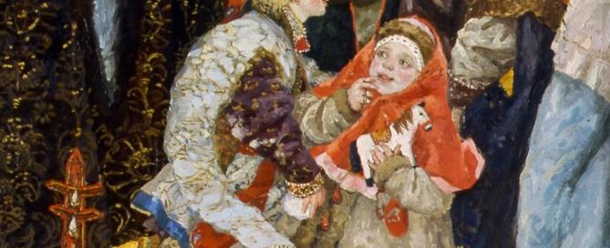 3. Cvetaeva - Antica cerimonia di nozze russa