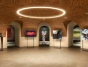 Allestimento della mostra di Barovero Mondazzi e Preverino - Rotonda di Talucci - foto di Fabio Amerio